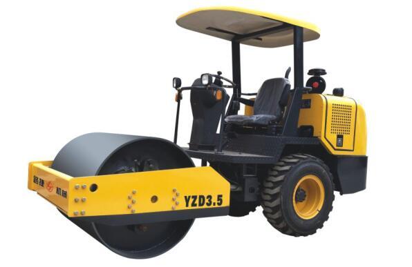YZD3.5单钢轮震动压路机